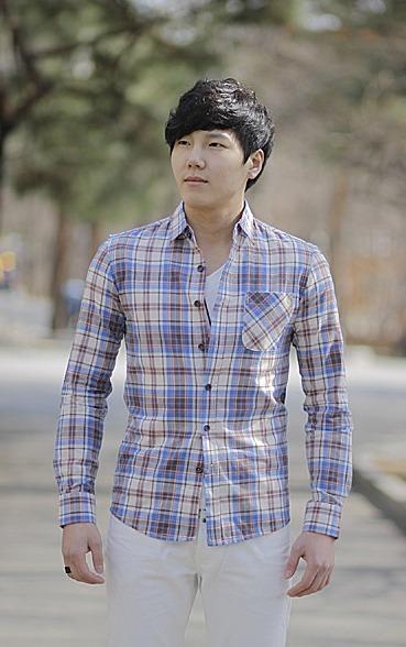 9c3ae3a2df7 남자봄체크셔츠]여자들이 좋아하는 남자패션아이템, 남자봄체크셔츠!