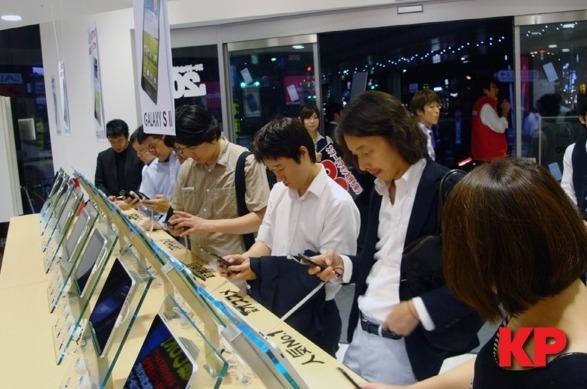 삼성전자, 갤럭시SⅡ 일본 출시