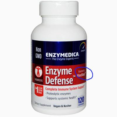 엔자임 디펜스 (비라스톱) 면역효소 Enzyme Defense Enzymedica
