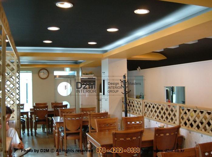 9년 전, 한식당인테리어 포트폴리오