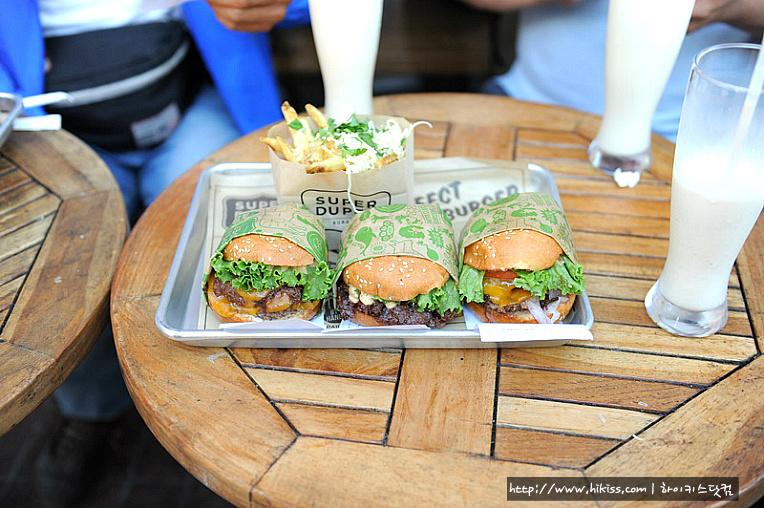 샌프란시스코 슈퍼듀퍼버거 (super duper burger)